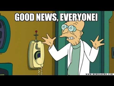 Image result for professor farnsworth good news