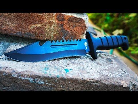 Ковка якутского ножа -