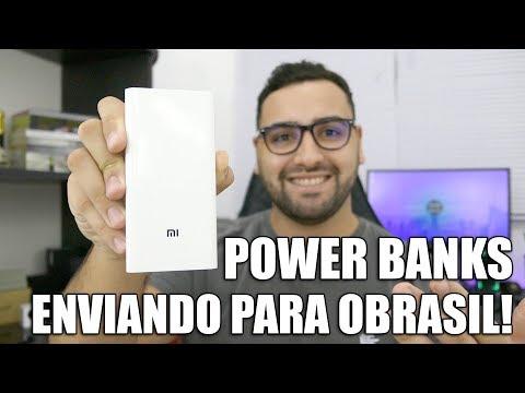 POWER BANKS E BATERIAS | BANGGOOD ESTÁ ENVIANDO PARA O BRASIL | XIAOMI POWER BANK 2C