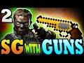 """Minecraft SG w Guns 2: """"CHEST JACKPOT!"""" - Minecraft Survival Games with Guns"""