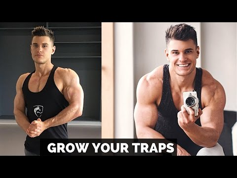 Build Hulking Big Traps Using Intense Training