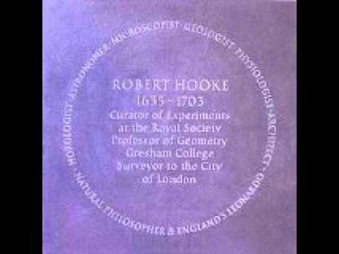 Robert Hooke 1635-1702 Author D.Selzer-McKenzie Video: