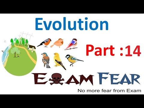 Biology Evolution part 14 (Hardy Weinberg Principle Introduction) class 12 XII