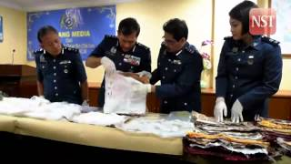Pakistani woman detained, 6 kg drugs found in cushion cover