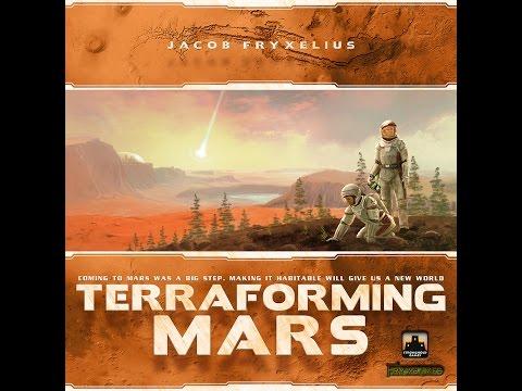 Terraforming Mars - Rezension auf deutsch (Schwerkraft 2016)