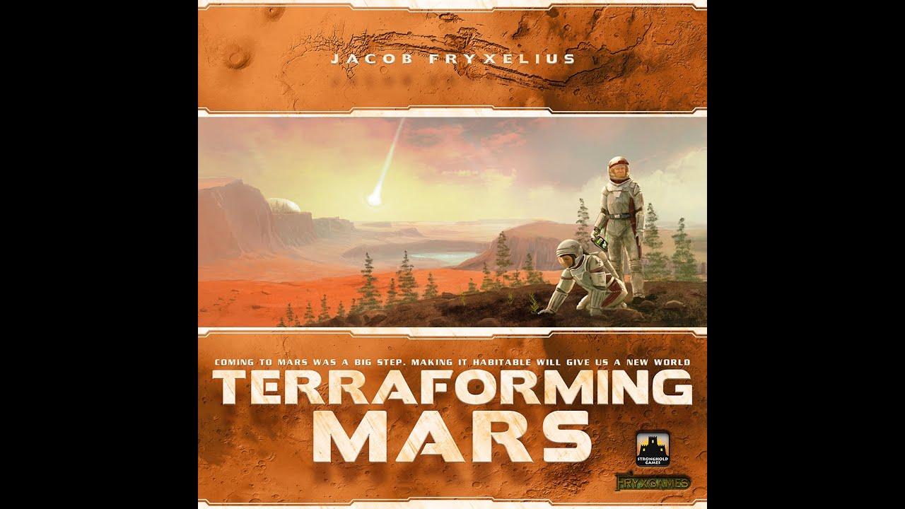 Terraforming Mars Rezension Auf Deutsch Schwerkraft 2016 Youtube