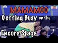 MAMAMOO Getting BUSY on the Encore Stage/ Winner's Ceremony 마마무