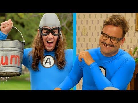 Bloopers from The Aquabats! Super Show! Season 2!