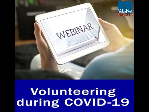 Virtual Town Hall on Volunteering in Nevada County