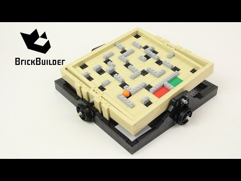Lego Ideas 21305 Maze - Lego Speed Build