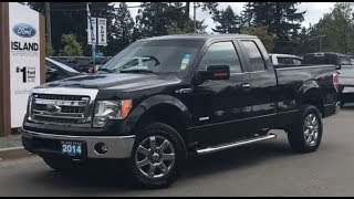 Black 2014 Ford F-150 XLT, Backup Camera, AUX, Lumbar Review   - Island Ford
