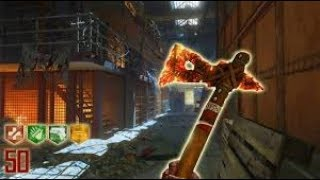 MOB OF THE DEAD ROUND 50 CHALLENGE!!(Call Of Duty Black Ops 2 Zombies)