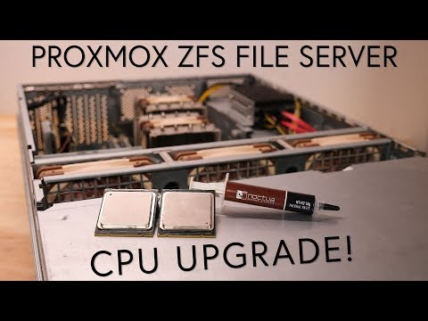 Time To Upgrade The CPU's In My Home File Server