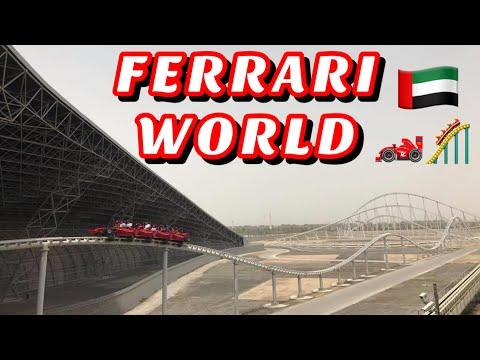 FERRARI WORLD   ABU DHABI   SOLOTRAVELER #FerrariWorld #ferrariworldAD #AbuDhabi