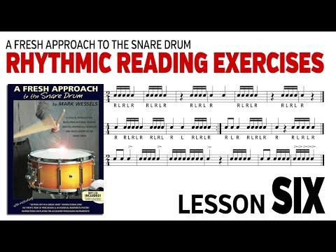 Music Rhythm Reading: Lesson 6B