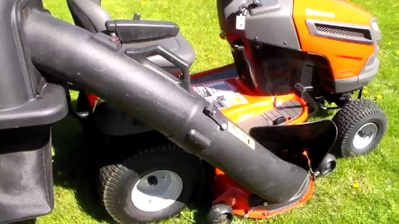 Husqvarna Riding Mower Review Model Yth24v48 Youtube
