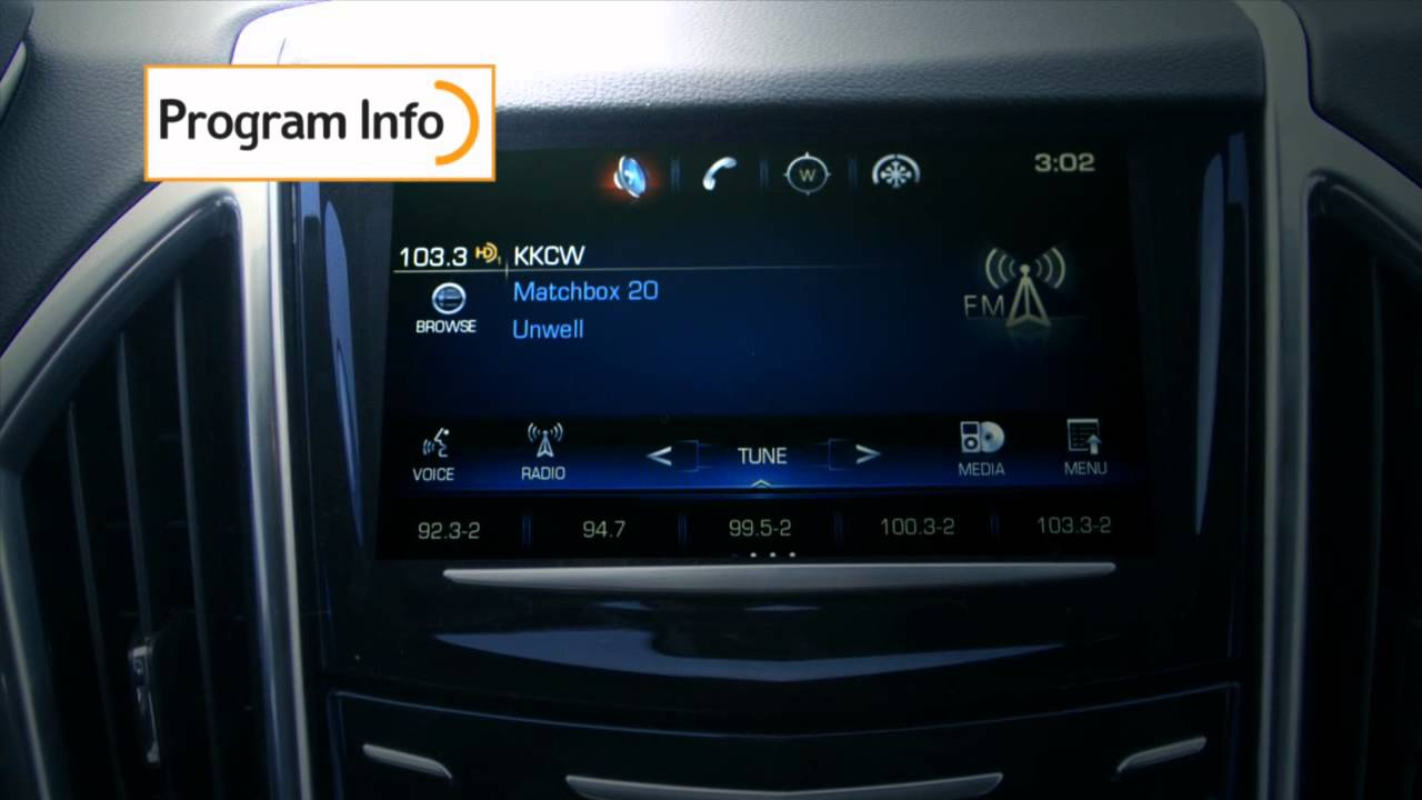 2014 Cadillac SRX w/HD Radio™ Technology - YouTube