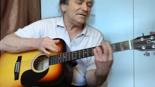 Испанский бой на гитаре ,УДИВИ ДРУЗЕЙ, для начинающих , видео разбор (как играть на гитаре )