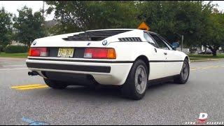 BMW M1 E26 - Walkaround // Acceleration