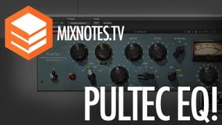 How to Use a Pultec EQ. Waves Puig-Tec EQP-1A