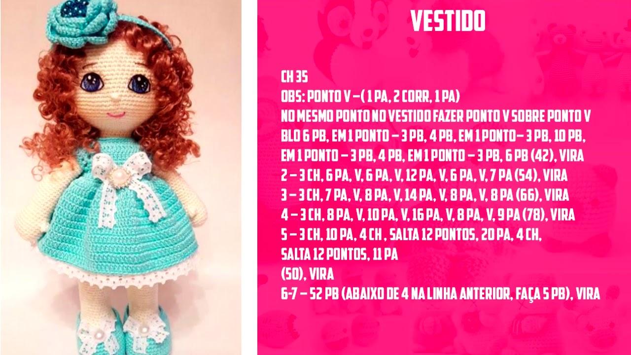 As 8 Melhores Receitas de Bonecas Amigurumi em Português - Artesã ...   720x1280