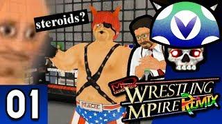 [Vinesauce] Joel - Wrestling MPire ( Part 1 )