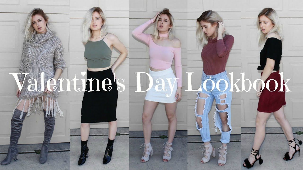 451a34fe2660 Valentine s Day Outfit Ideas - Date Night Outfits - YouTube