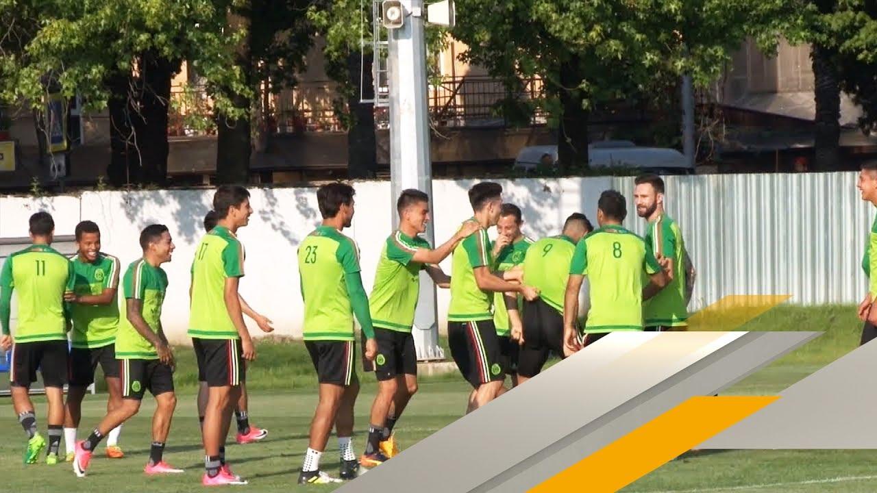 Training Mal Anders Dfb Gegner Mexiko Mit Lustigen Ubungen