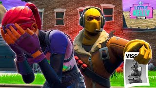 LITTLE KELLY'S TALKING DOG GETS STOLEN - Fortnite Short Film