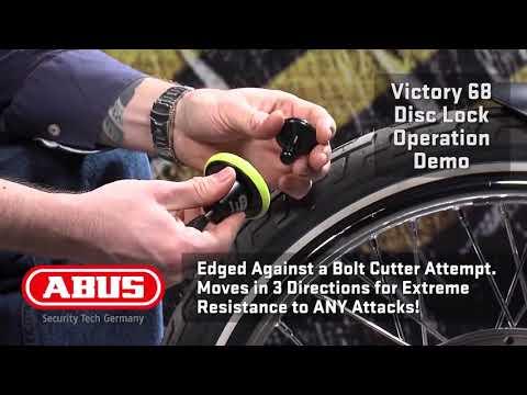 Abus Granit Victory XPlus 68 Roll-Up Bremsscheibenschloss
