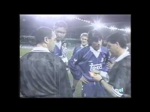"""Fernando Hierro al árbitro: """"No sabes como jodernos, ¿no?"""""""