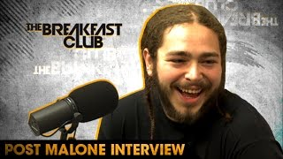 Post Malone Chats About Touring With Justin Bieber & Exploring Different Genres of Music