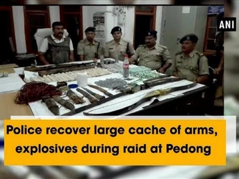 Police recover large cache of arms, explosives during raid at Pedong - West Bengal News