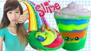 Slime 7 Sắc Cầu Vồng (Làm & Chơi) - Rainbow Slime