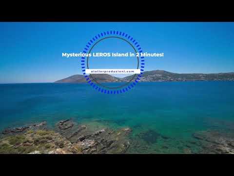 Leros Island in 2 minutes! | Travel Video Joint | Greek Island Landscape Lakki Alinda Agia Marina