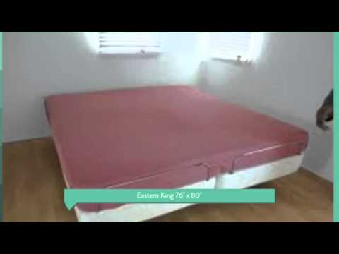Electric Adjustable Bed Sheets Twin XL Full Cal King Split Q   YouTube