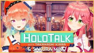 【#HOLOTALK】With our 5th guest: Sakura Miko #EliTori #エリー鳥