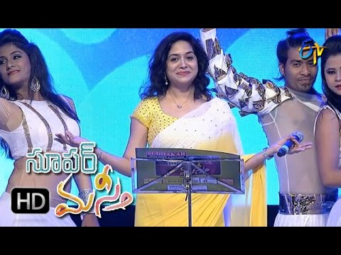 Narudaa O Narudaa Song | Sunitha Performance | Super Masti | Parchur | 30th April 2017 | ETV Telugu