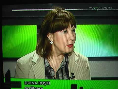 Camelia Văcaru de vorbă cu Doina Ruşti la TVR Cultural