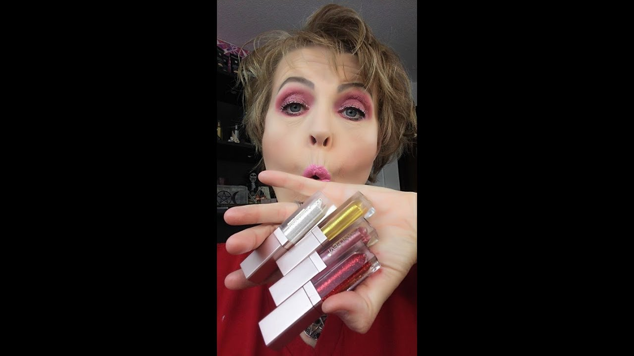Stila Dupe Glitter Liquid Eyeshadow 2 Reveal Review Tutorial Focallure And Glow For Mature Loose Skin