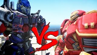 HULKBUSTER VS OPTIMUS PRIME - EPIC BATTLE
