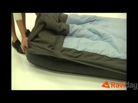 Matelas gonflable avec sac de couchage int gr intex youtube - Sac de couchage avec matelas gonflable integre ...