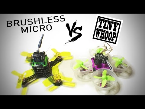 Live Stream 02: Tiny Whoops vs. Brushless Micros
