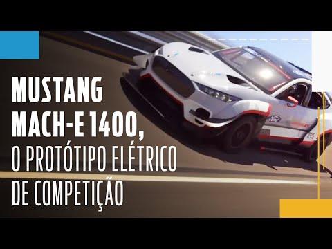 Ford apresenta o Mustang Mach-E 1400, o protótipo elétrico de competição