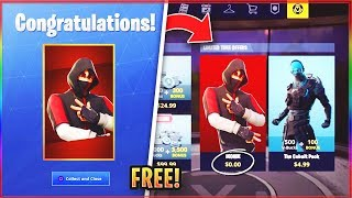 """* NEW * How TO GET The """"ICONIC SKIN"""" FREE In FORTNITE! (FREE Fortnite ICONIC SKIN)"""