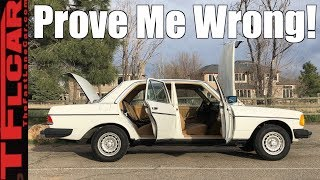 This 37-Year-Old Diesel Is THE BEST Mercedes Ever Made!