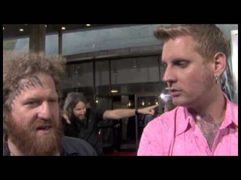 Mastadon Interview - Jonah Hex Movie Premiere