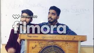 BEWAFA - Cover | Mohsin Saleem | Feat.Momin Ali