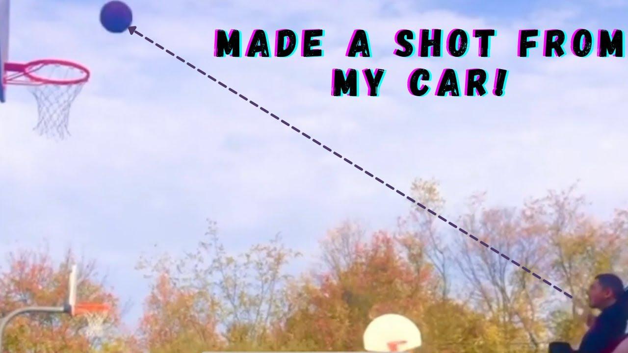 WILD IG BASKETBALL TRICK SHOTS