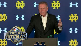 Brian Kelly press conference, Navy vs. Notre Dame (FULL) | 11/16/19 | NBC Sports
